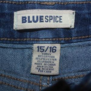 Blue Spice Jean Shorts 15/16